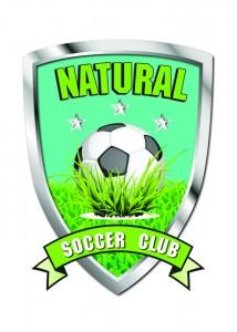 Natural soccer logo